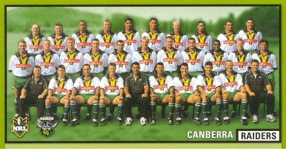 2000 Canberra Raiders