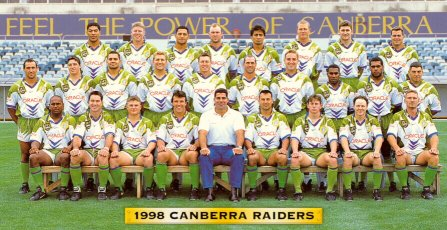 1998 Canberra Raiders