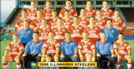 1998 Illawarra Steelers