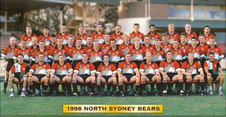 1998 North Sydney Bears