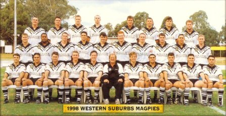 1998 Western Suburbs Magpies