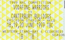 Round 16: Bulldogs v Auckland Warriors