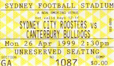 Round 8: Bulldogs v Sydney City Roosters