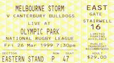 Semi Final: Bulldogs v Melbourne Storm