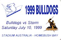 Round 19: Bulldogs vs Melbourne Storm