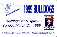 Round 3: Bulldogs v Newcastle Knights