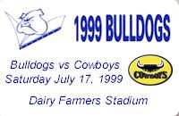 Round 20: Bulldogs v North Queensland Cowboys
