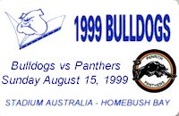 Round 24: Bulldogs vs Penrith Panthers