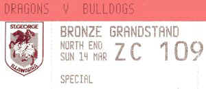 Round 2: Bulldogs v St George-Illawarra Dragons