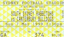 Round 1: Bulldogs v South Sydney Rabbitohs