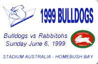 Round 14: Bulldogs v South Sydney Rabbitohs