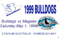Round 9: Bulldogs v Western Suburbs Magpies
